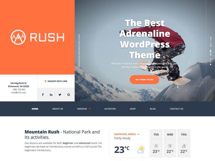 Adrenaline WordPress Theme Documentation Online Documentation