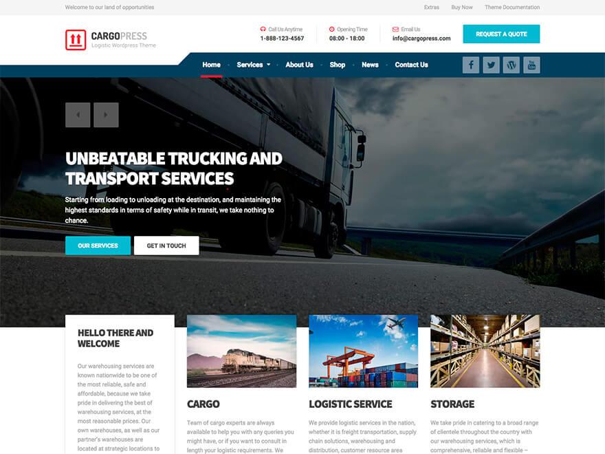 CargoPress WordPress Theme Documentation Online Documentation