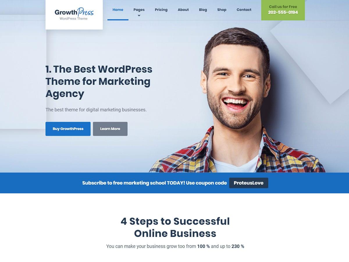 GrowthPress WordPress Theme Documentation Online Documentation