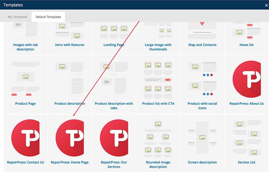 RepairPress WordPress Theme Documentation Online Documentation
