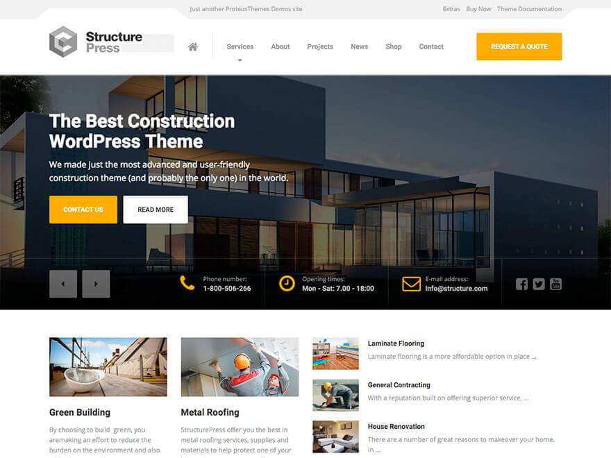 StructurePress WordPress Theme Documentation Online Documentation