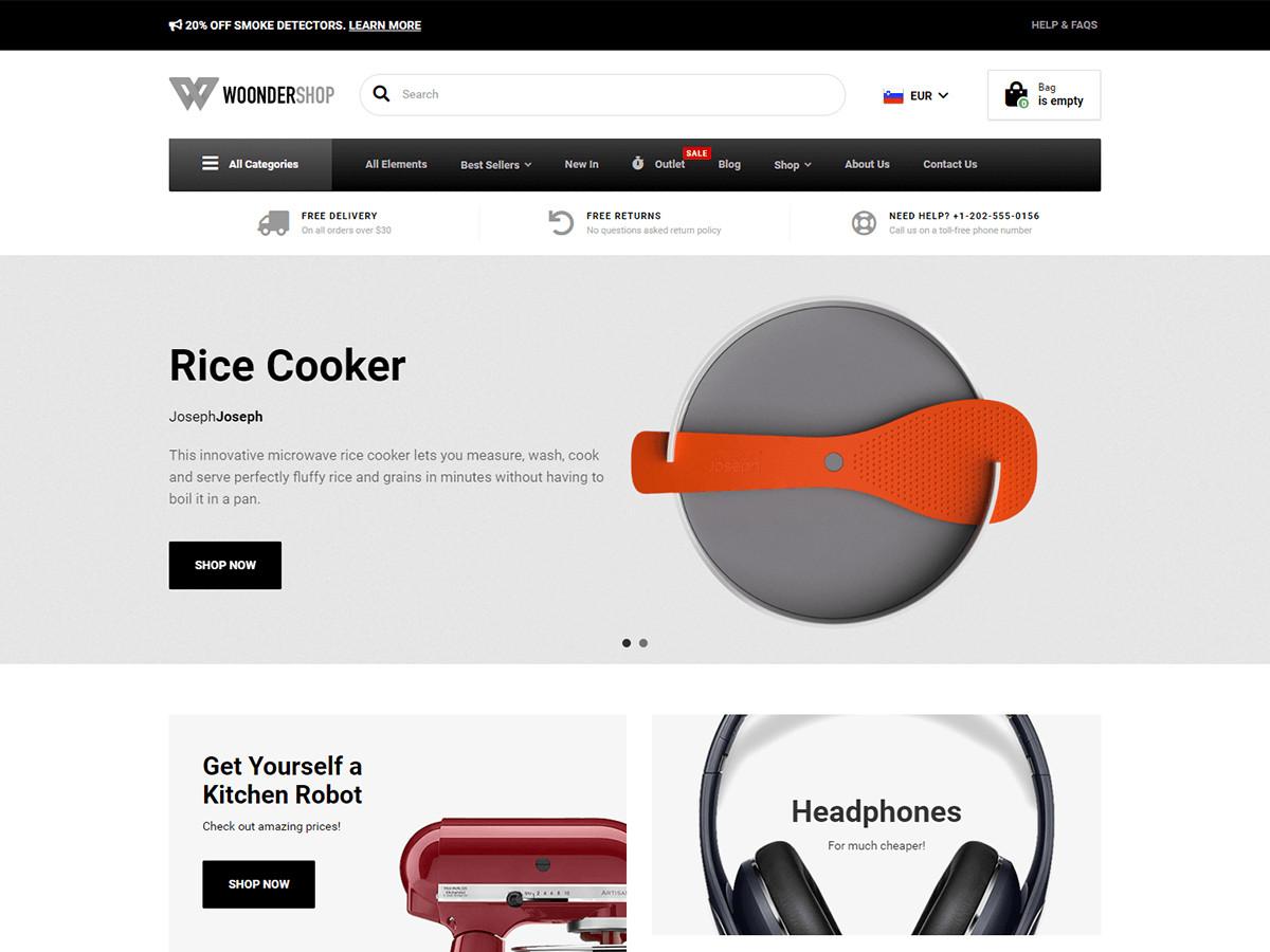 WoonderShop WordPress Theme Documentation Online Documentation