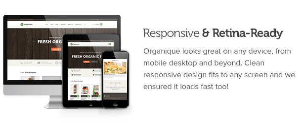 Organique - HTML Template For Healthy Food Store