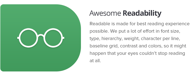 Readable - Blog Template Focused on Readability