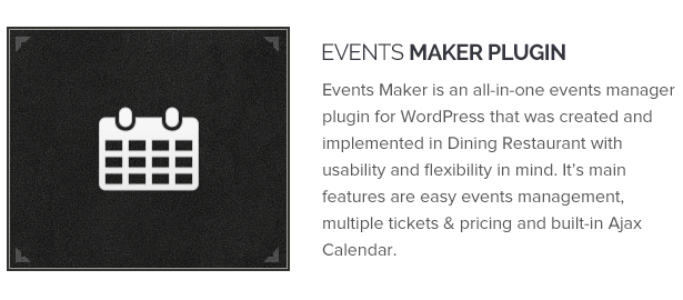 Events Maker Plugin