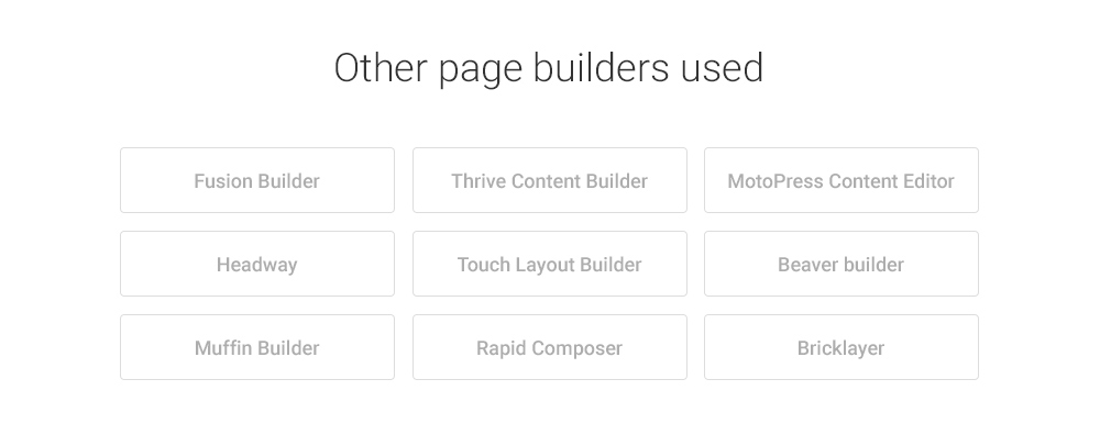 other-page-builders