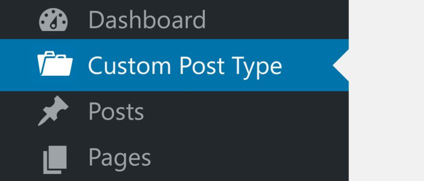 How to create custom post type