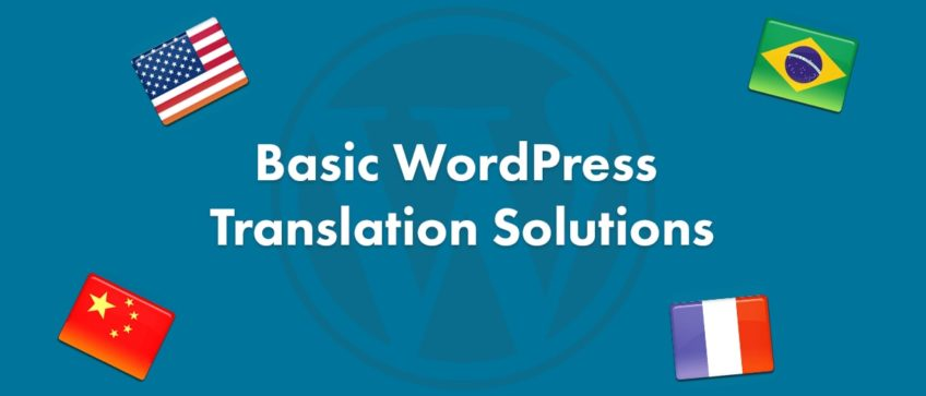 WordPress translation problems