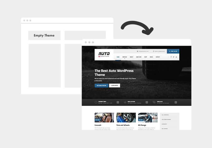 Auto - WordPress Theme for Car Mechanics and Auto Repair Business