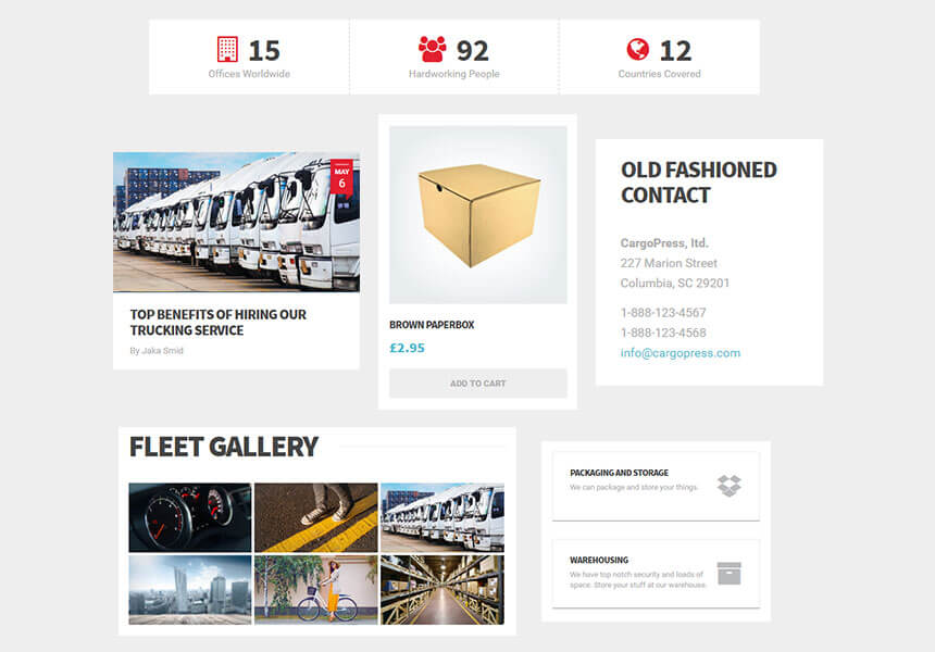 CargoPress - WordPress Theme for Logistic, Warehouse and Transport