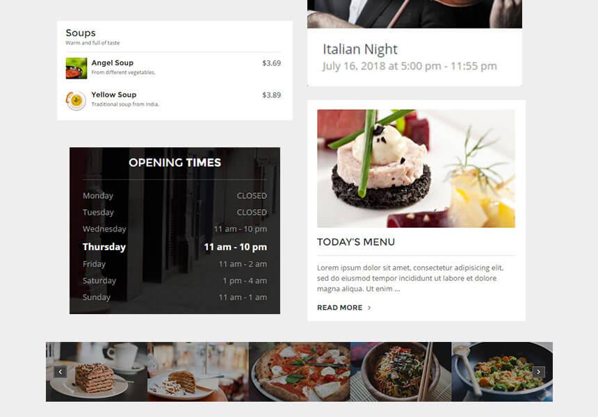 dining-widgets