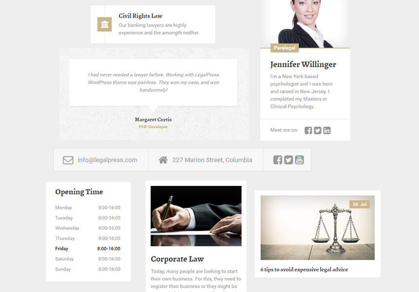 legal-widgets