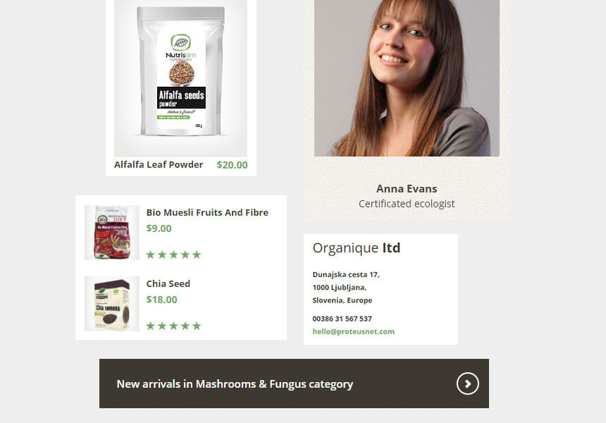 organique-widgets