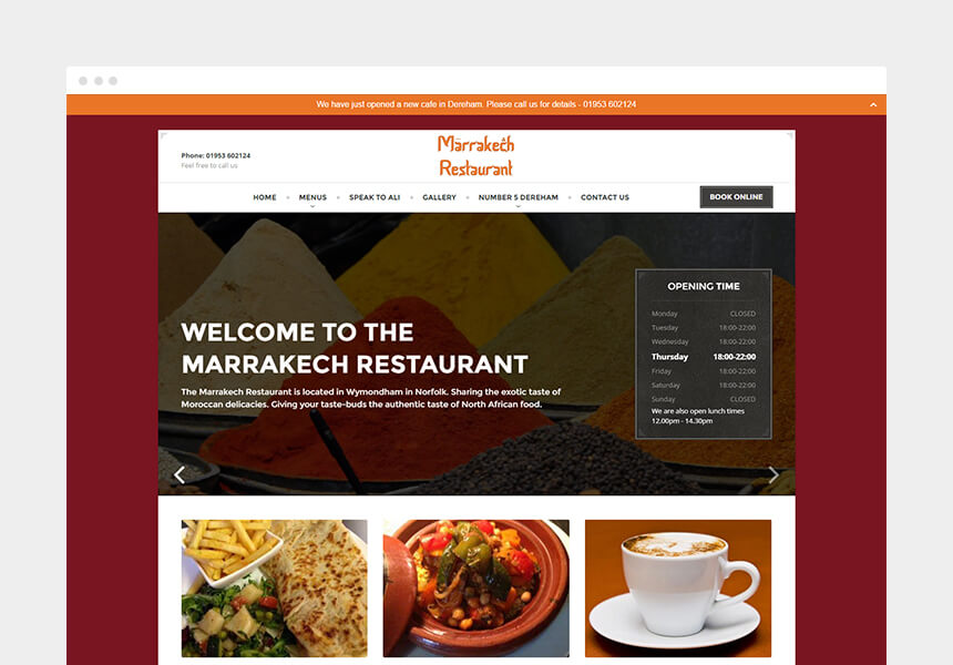 dining restaurant wordpress theme for restaurants and chefs