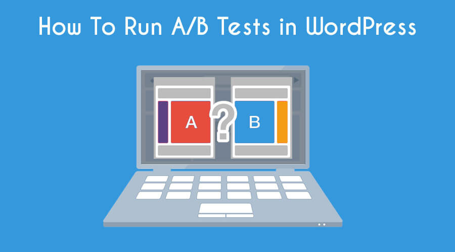 A/B Testing WordPress Header