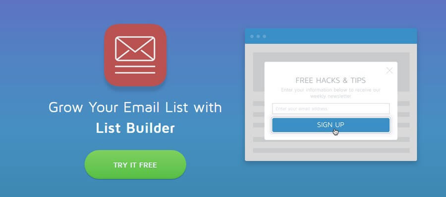 WordPress List Builder