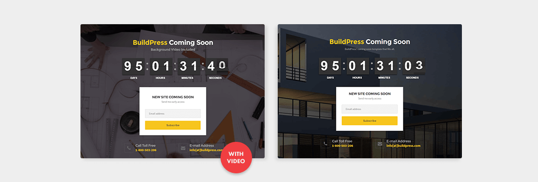 BuildPress Coming Soon Demo
