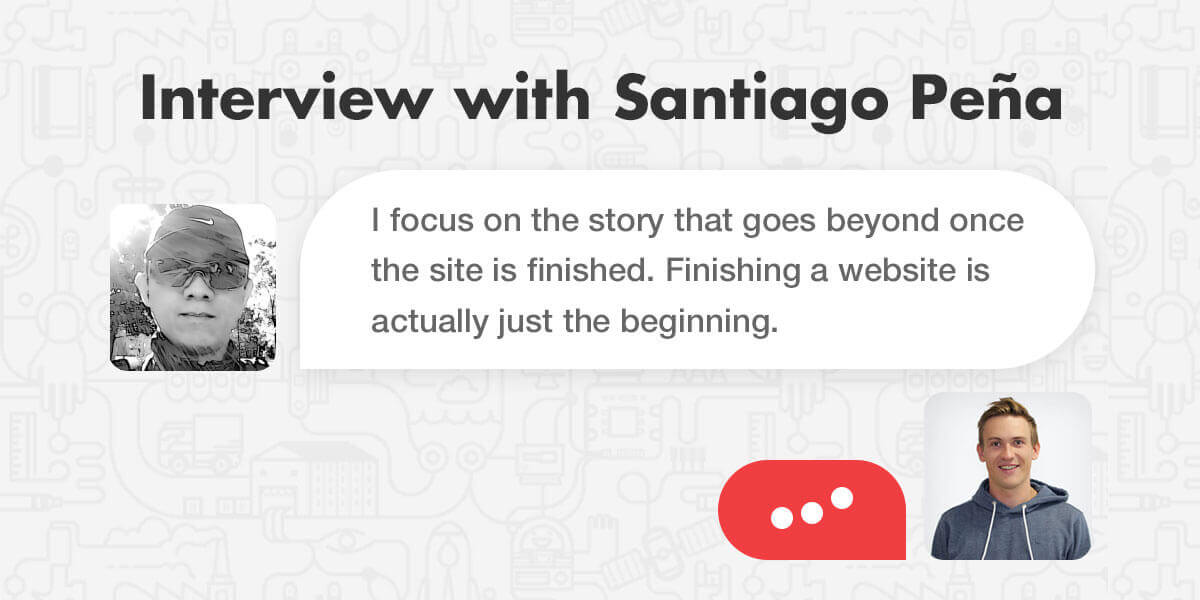 Interview with Santiago Pena