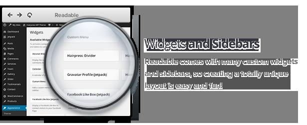 Readable - Blogging WordPress Theme Focused on Readability - 8