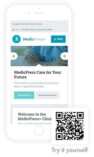 MedicPress on mobile