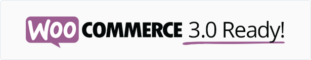 WooCommerce 3.0 Ready
