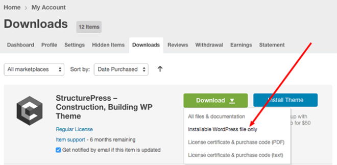 StructurePress ThemeForest Download