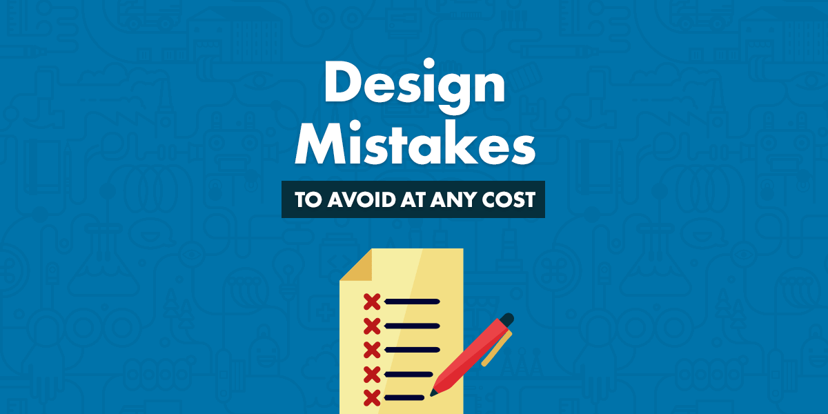 design mistakes when working with wp themes