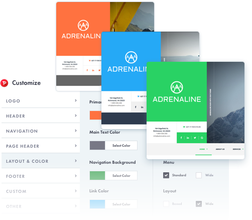 Adrenaline - Sports, Travel and Outdoor WordPress Theme