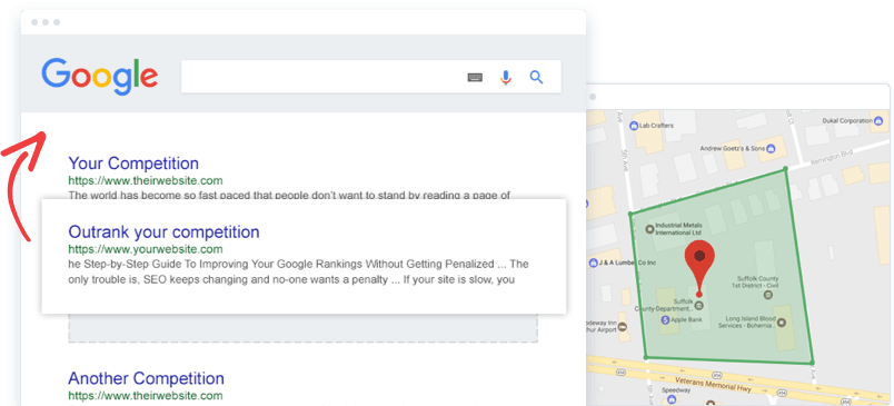 Local SEO Optimizing and Google Ranking a Theme