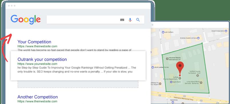 Local SEO Optimizing and Google Ranking a Theme