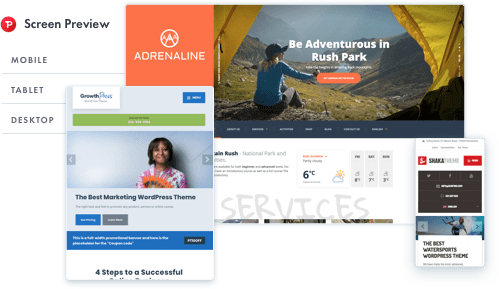 Adrenaline WordPress theme for Adventure Activities, Sports & Travel