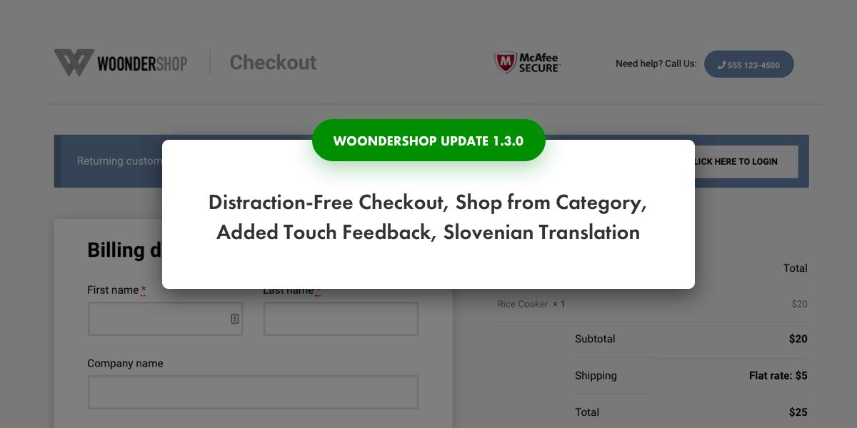 WoonderShop update 1.3