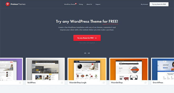 proteusthemes wordpress themes