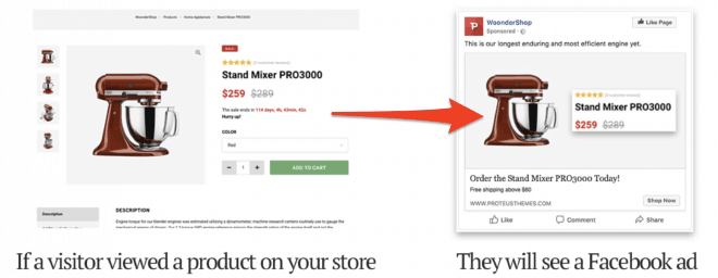 facebook pixel and woocommerce