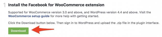 zip download woocommerce