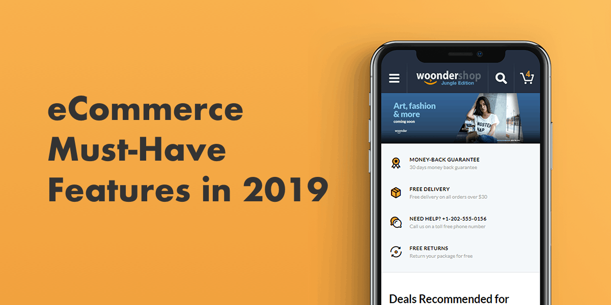 ecommerce must have features 2019