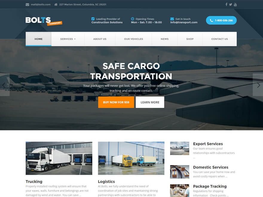 Bolts WordPress Theme