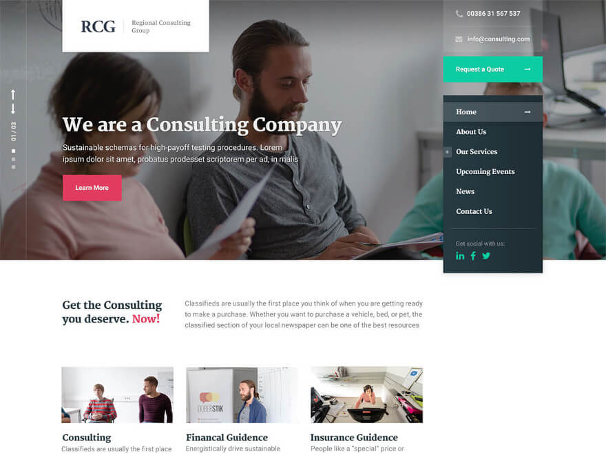 ConsultPress WordPress Theme