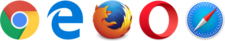 Compatible browsers