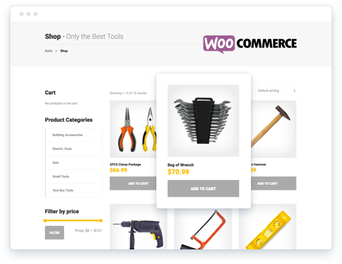 Online Website WooCommerce Shop