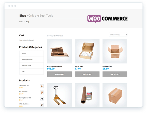 WooCommerce Online Shop